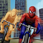 Free online flash games - Spidey Vs Sandman game - Games2Rule