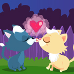 Free online flash games - Kitty Smooch game - Games2Rule