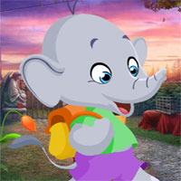 G4K Cartoon Elephant Rescue